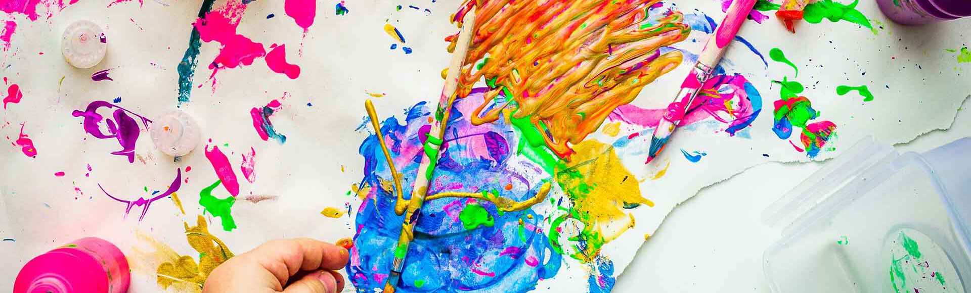 Beneficios del arte en los niños