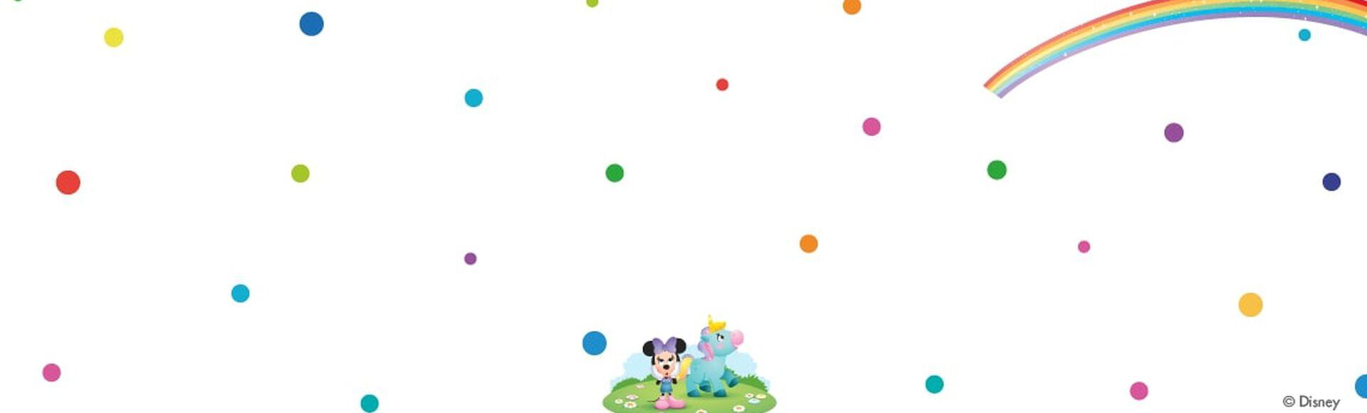 Minnie Mouse y Lily el unicornio