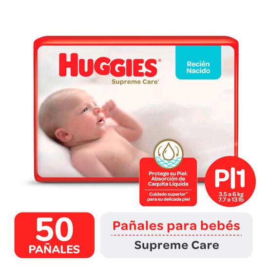 PAÑAL HUGGIES SUPREME CARE AHORRAPACK  Px50