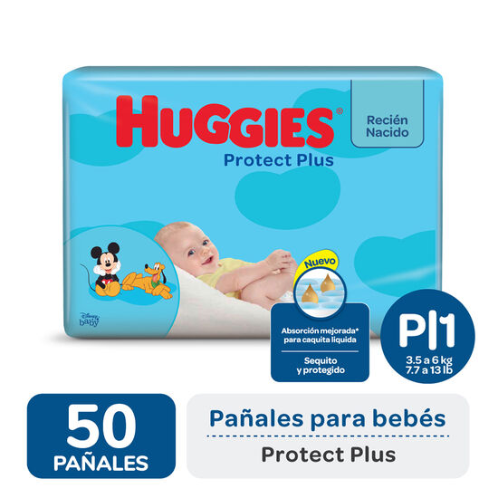 PAÑAL HUGGIES PROTECT PLUS Px50