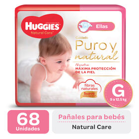PAÑAL HUGGIES NATURAL CARE ELLAS Gx68