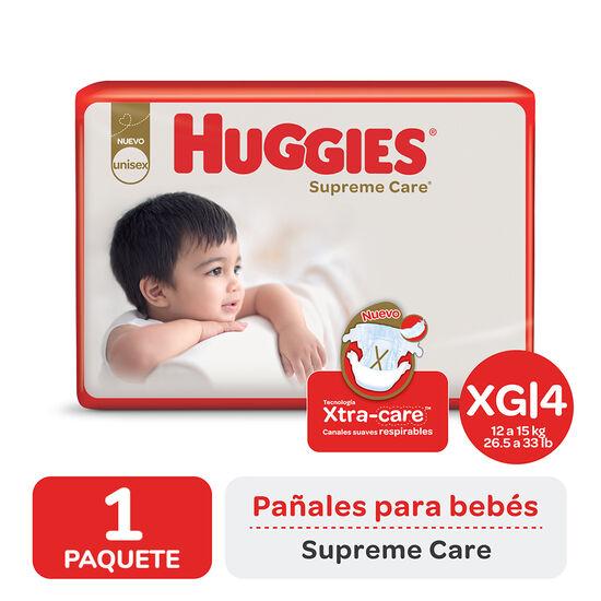 PAÑAL HUGGIES SUPREME CARE AHORRAPACK XGx52