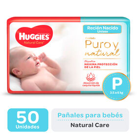 PAÑAL HUGGIES NATURAL Care Px50