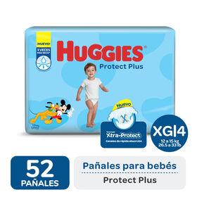 PAÑAL HUGGIES PROTECT PLUS XG x52