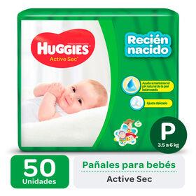 PAÑAL HUGGIES ACTIVE SEC Px50