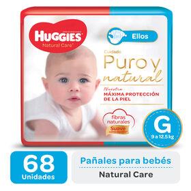 PAÑAL HUGGIES NATURAL CARE ELLOS Gx68