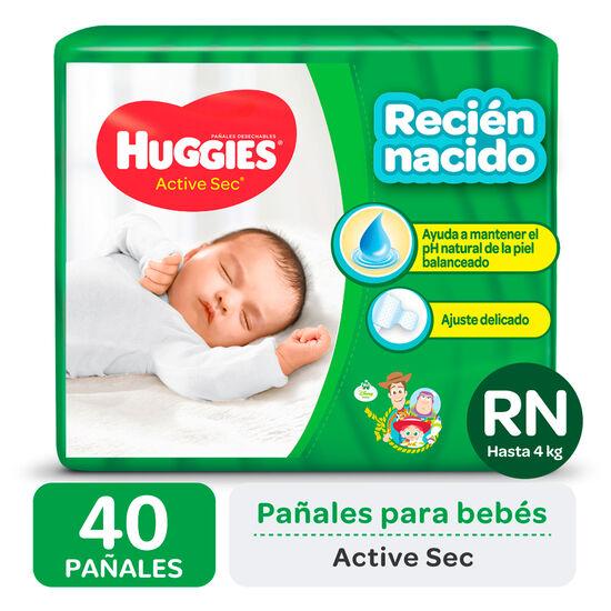 PAÑAL HUGGIES ACTIVE SEC RNx40