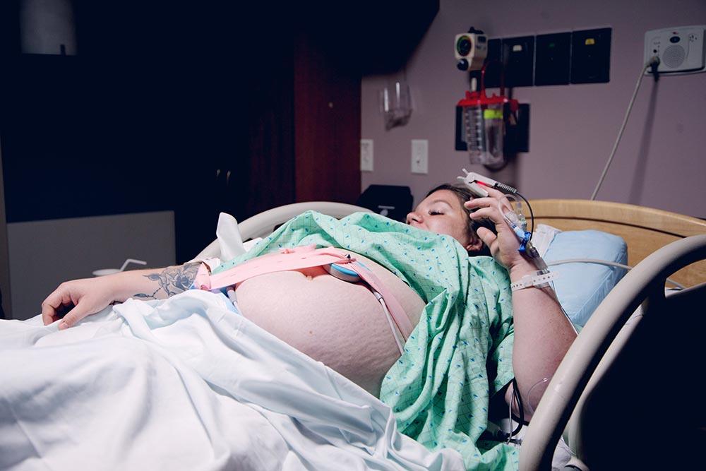 Momento del parto ha llegado