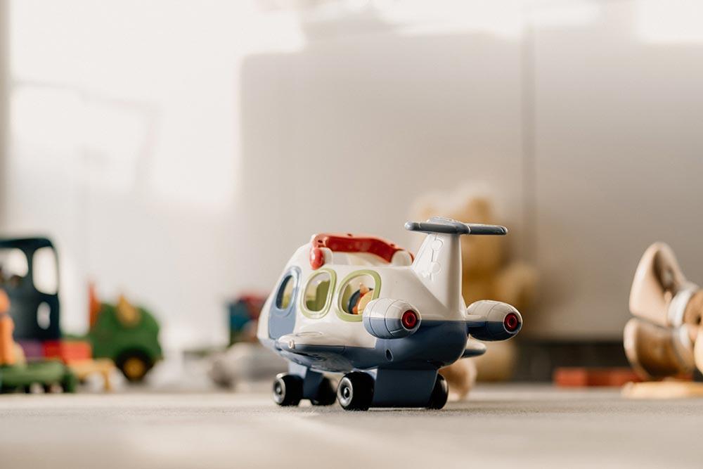Limpieza de los juguetes del bebé